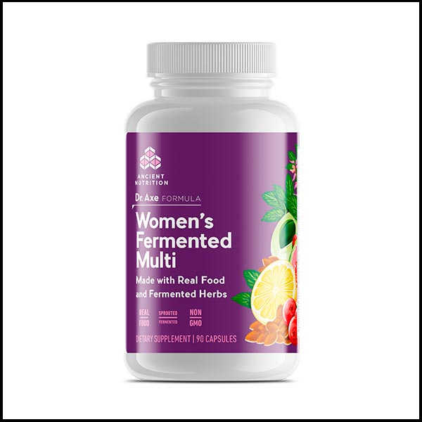 Women's Fermented Multi Vitamins-6months
